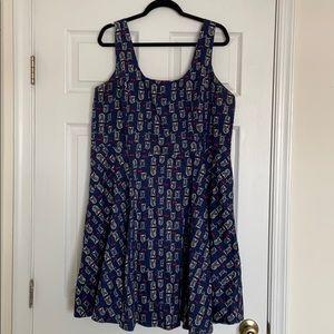 ModCloth Plus Size Owl Print Dress